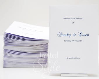 order of service church booklets order of proceedings