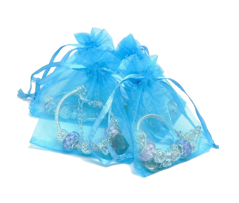 SanaBelle\u2122 Party Bag Favour Birthday Personalised Engraved Name Charm Bracelets Pack Sizes of 5,6,7,8,9,/& 10