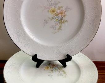 "Noritake ""Anticipation"" (8) DINNER PLATES ~ New"