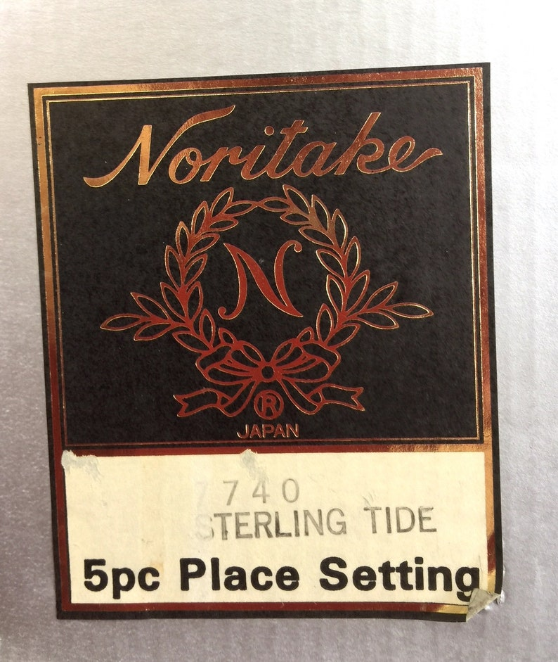 Noritake Sterling Tide 5 Pc PLACE SETTINGS 4