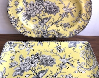 Adelaide Yellow (2) PLATTERS by 222 FIFTH