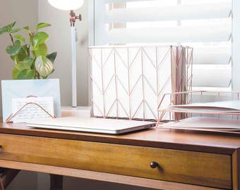 u brands copper wire metal office desk accessories cute office k9 cute