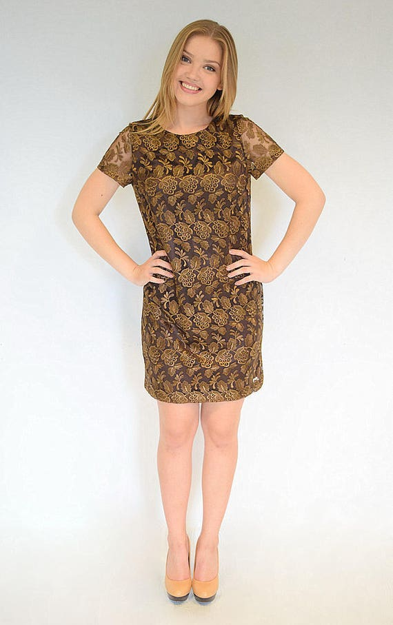 dress dresses dress dress women Women lace Party dress dress dress Evening Brown Brown mini lace dress Lace Brown Casual dress Cocktail lace wI8YqAw