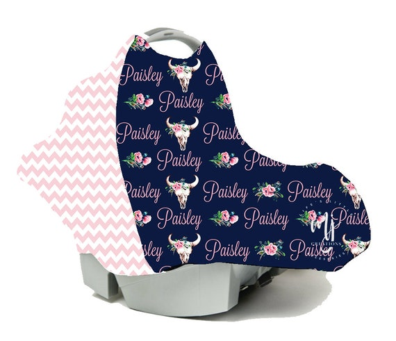 Personalized Baby Car Seat Wrap Nursing