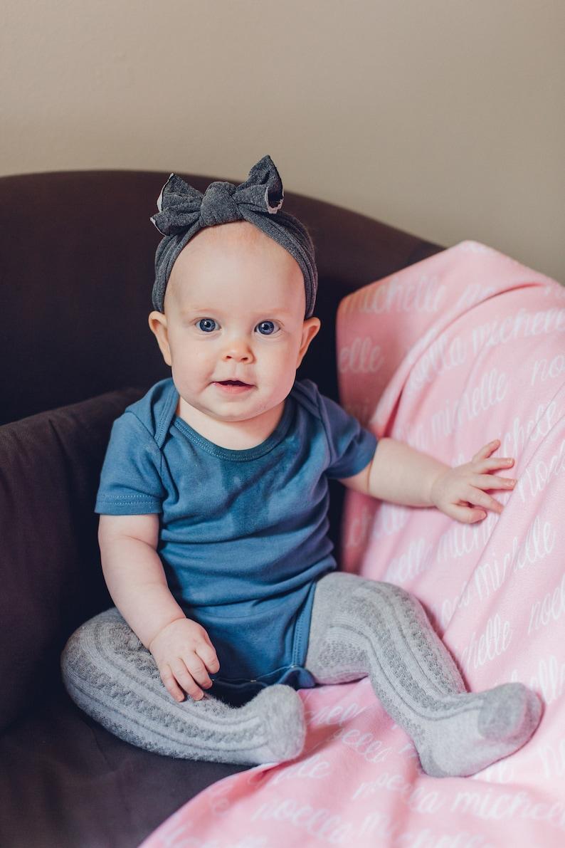 Custom Baby Blanket Baby Shower Gift- Fleece Baby Blanket Baby Girl Blanket Baby Name Blanket Personalized Swaddle Blanket