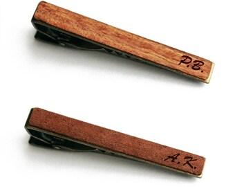 Tie clip personalize, Personalized Tie Clip, Personalized Gifts for Him, Custom Tie Clip, personalized tie bar, Custom Tie Bar wood tie clip