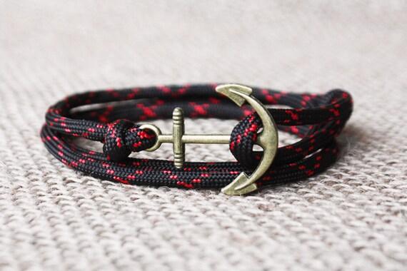 Bracelet corde nautique homme