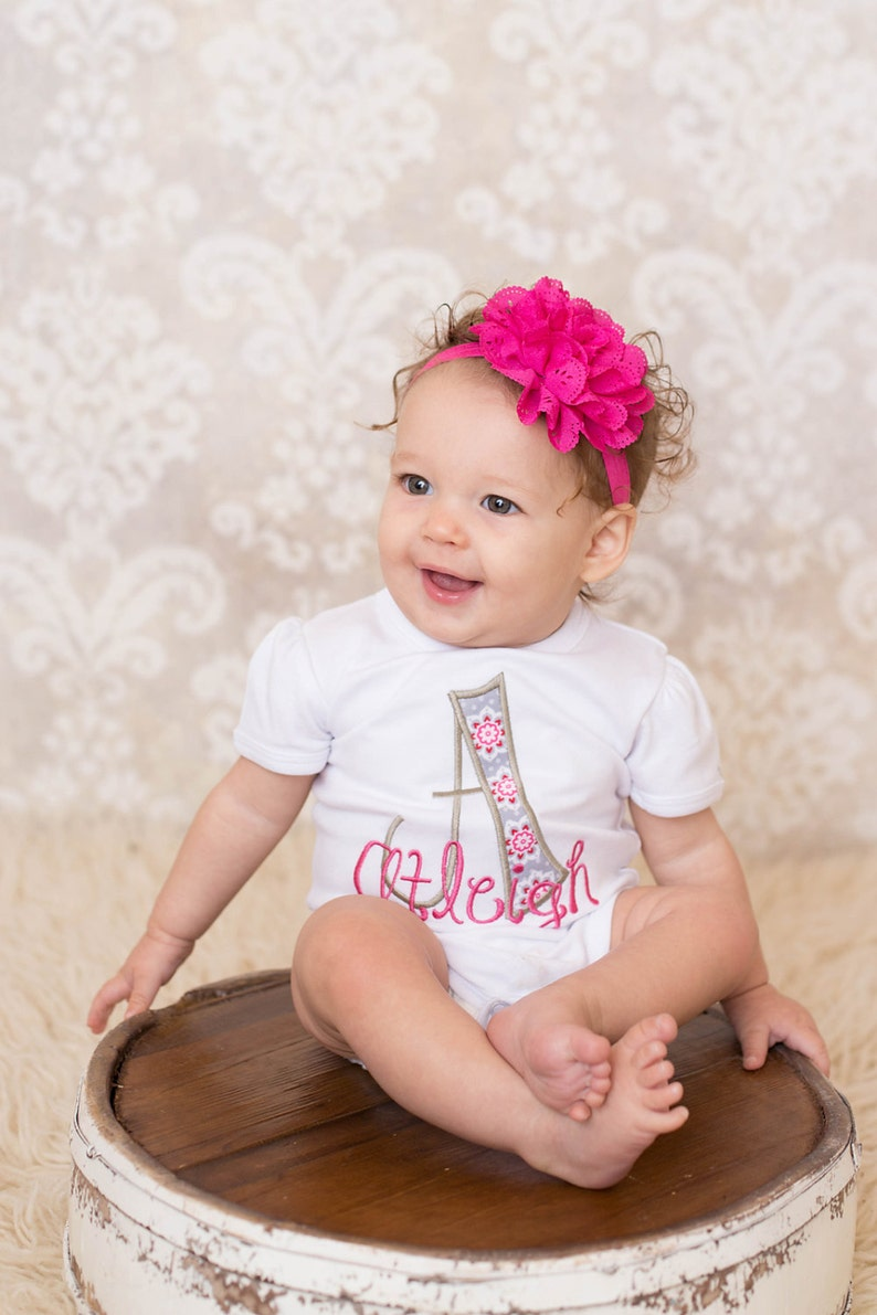 a43a1f077df1 Monogram shirts for kids Monogrammed baby clothes Baby
