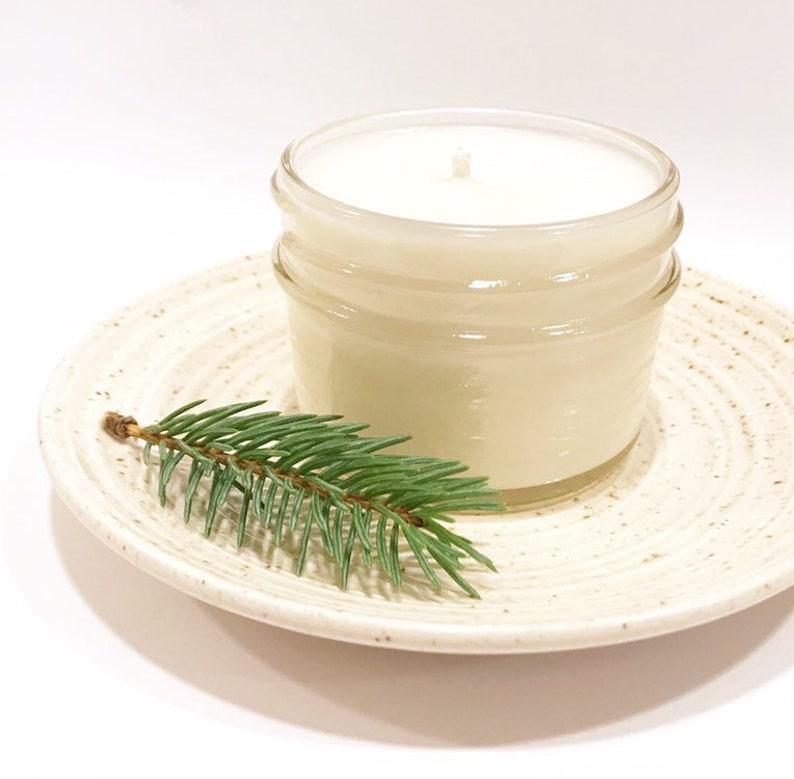 Frosted Juniper Soy Candles Handmade image 0