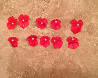 Little red bows