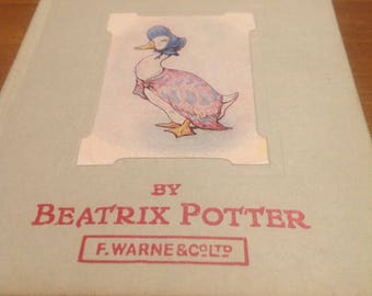 Beatrix Potter book, tales of Jemima Puddleduck