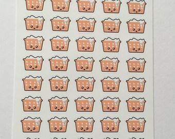 Kawaii Laundry Stickers : A33