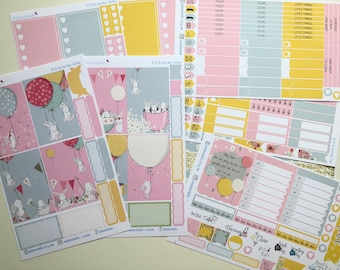 The Great Race BIG Happy Planner Sticker Kit