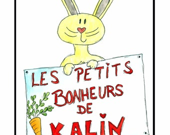 Kalin's tale to explain the small joys of life to children, book, Easter, education, family