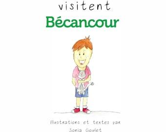 Bedtime story tourist Ben and Minwiz visit Becancour