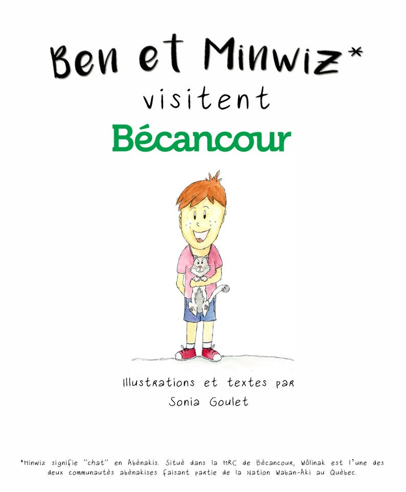 Bedtime story tourist Ben and Minwiz visit Becancour image 0