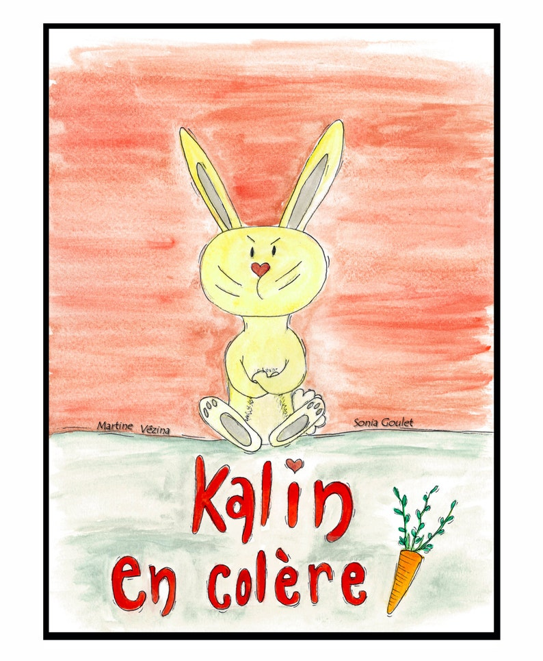 Tale of Angry Kalin  children's book about managing image 0