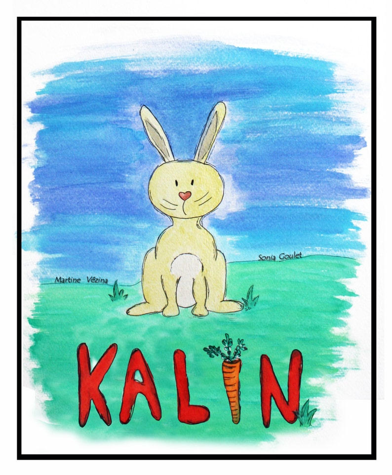 Tale of Kalin on the difference-child's book child image 0