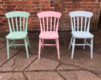 Remarkable Farmhouse Chairs Etsy Home Interior And Landscaping Oversignezvosmurscom