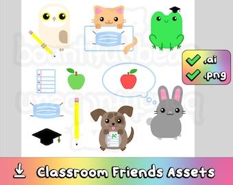 Classroom Friends Image Assets