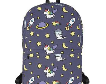 Bean's Super Space Adventure Backpack (Printful)