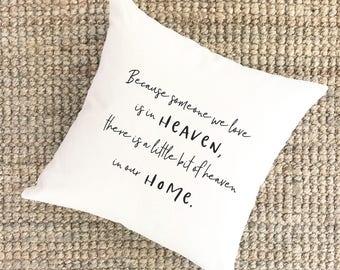 Memorial Pillow Etsy