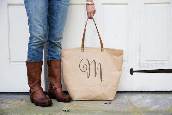 Monogrammed Gift For Women Weekender Birthday Mom