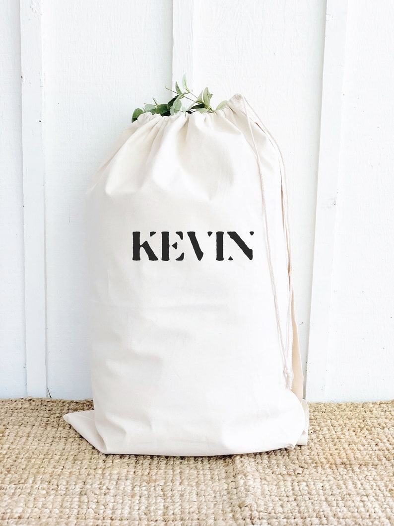 Personalized Laundry Bag Custom High School Graduation Gift image 0