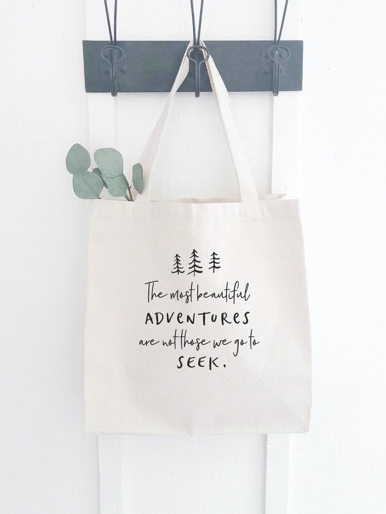 Adventure Awaits Eco Friendly Tote Bag