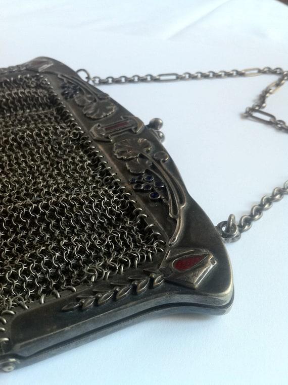 Liberty metal mesh Bag-Purse Liberty in mesh