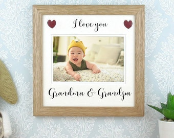 Grandparents Picture Frame Etsy