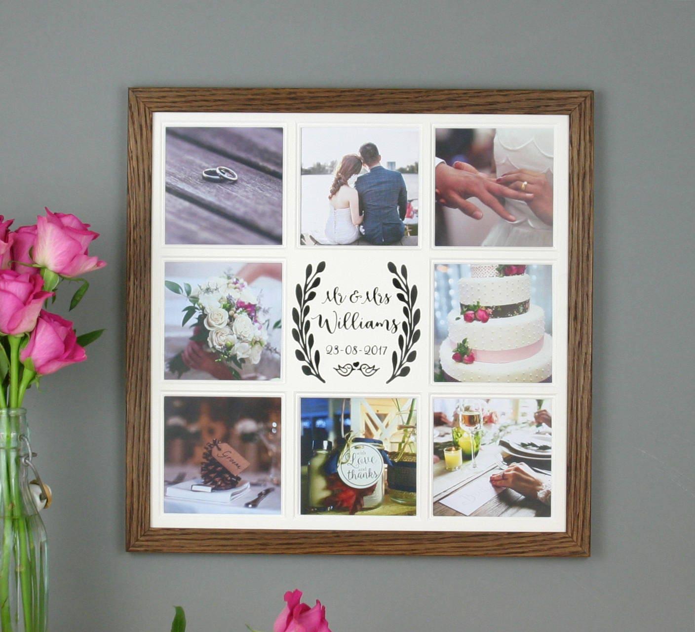 Personalisierte Bilderrahmen Hochzeit Hochzeit Collage | Etsy