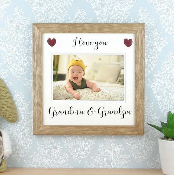 Grandparents picture frame Photo frame. Gift for Grandma
