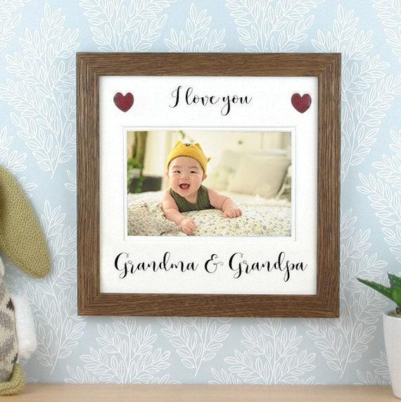 cadre de photo de grands parents cadre photo cadeau pour. Black Bedroom Furniture Sets. Home Design Ideas