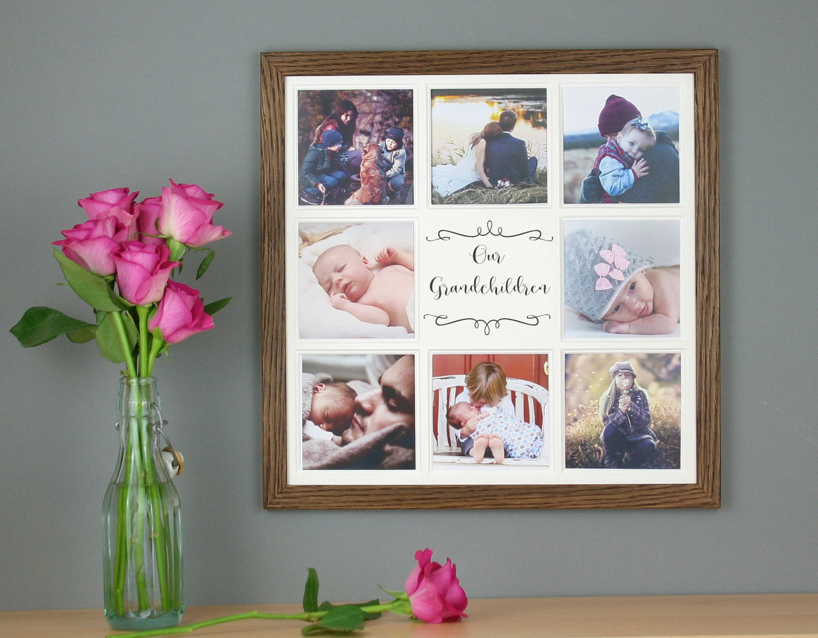 Unsere Enkel Multi-Bilderrahmen collage Enkeln Rahmen