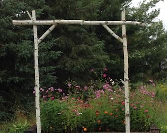 5 Piece Birch Wedding Arch