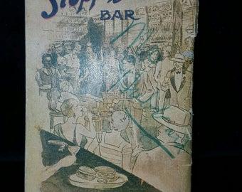 SLOPPY JOE'S Bar Book - l933