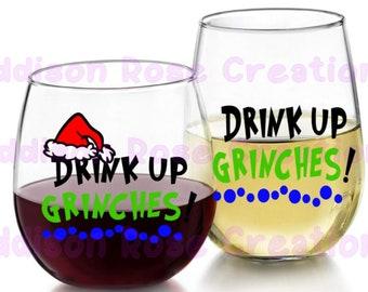 Drink Up Grinches SVG, PDF, JPEG