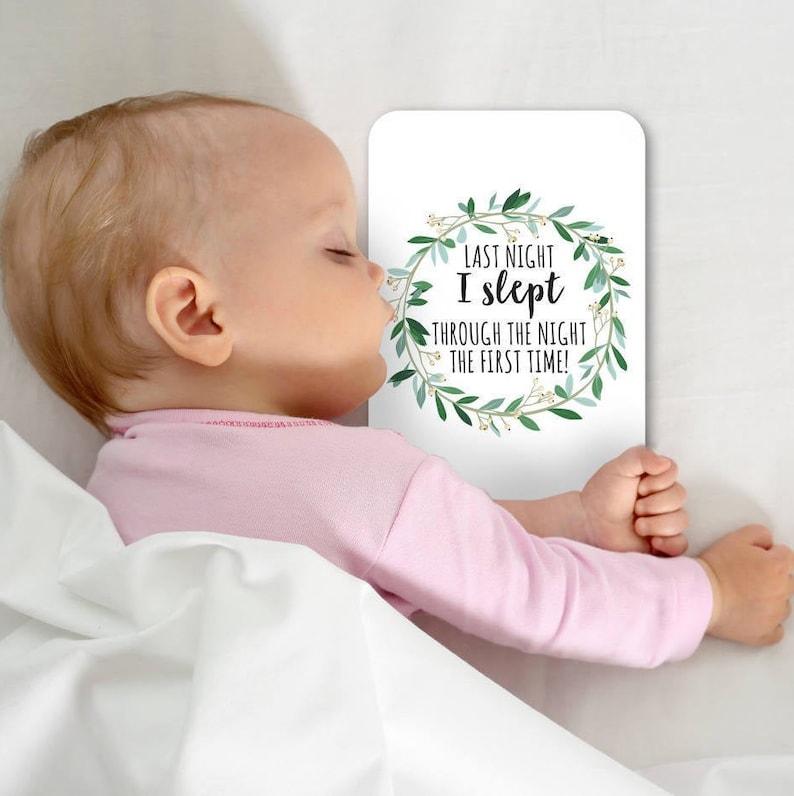 Baby Milestone cards set of 26 Baby Shower Gift Unisex