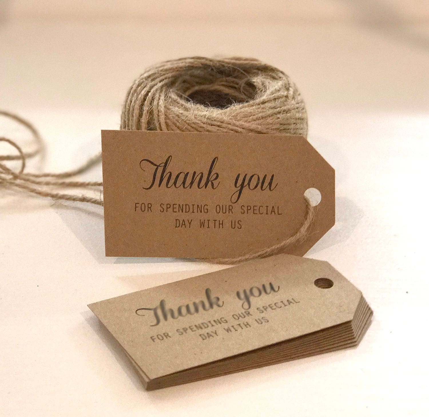 Kraft White Wedding Favour Gift Tags Sparklers Bomboniere PERSONALISED Vintage