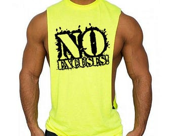bc06b82b Low Cut Muscle Gym Vest - Men's Gym Sleeveless Sideless Muscle Singlets  Tank Top \ Premium Quality ! Fast Delivery !