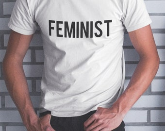 FEMINIST T-SHIRT / Premium Quality ! - Made in London / Fast Delivery to the Usa , Canada , Australia & Europe !