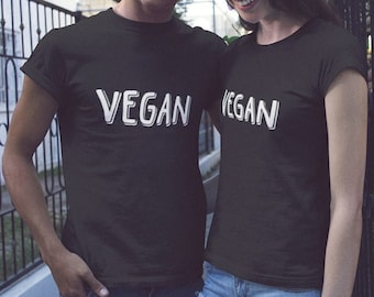 VEGAN T-shirt -  / Premium Quality ! - Made in London / Fast Delivery to the Usa , Canada , Australia & Europe !