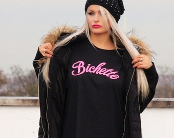 Bichette T-shirt /  Made in London / Fast Delivery to the Usa , Canada , Australia & Europe !