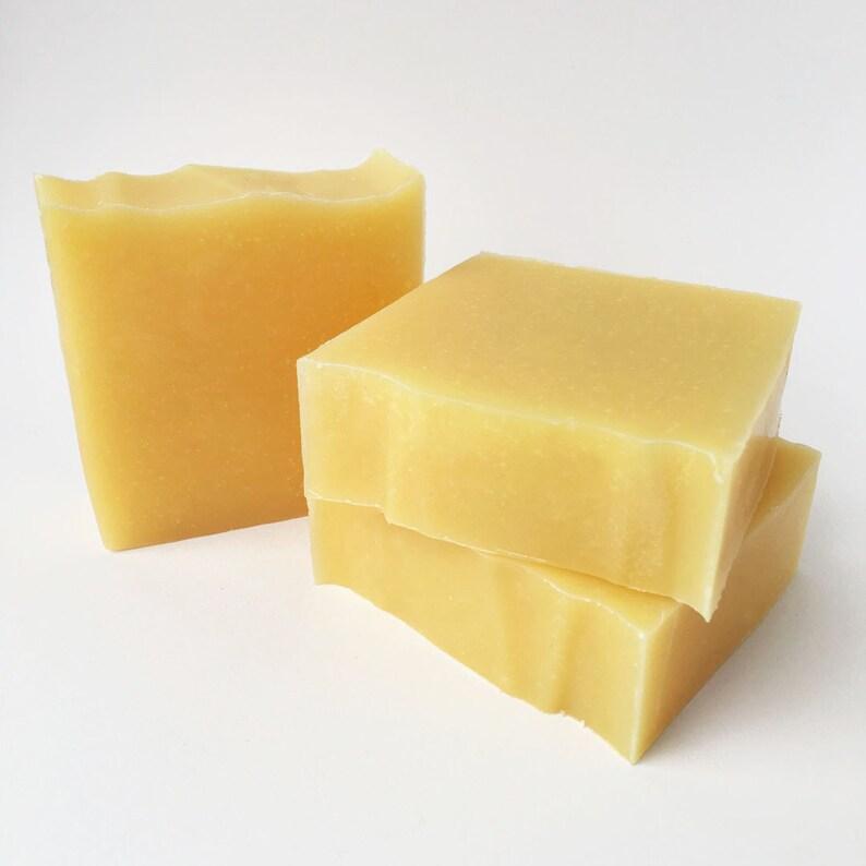 Handmade Soap Lemongrass Soap Bar Soap Cold Process Soap image 0