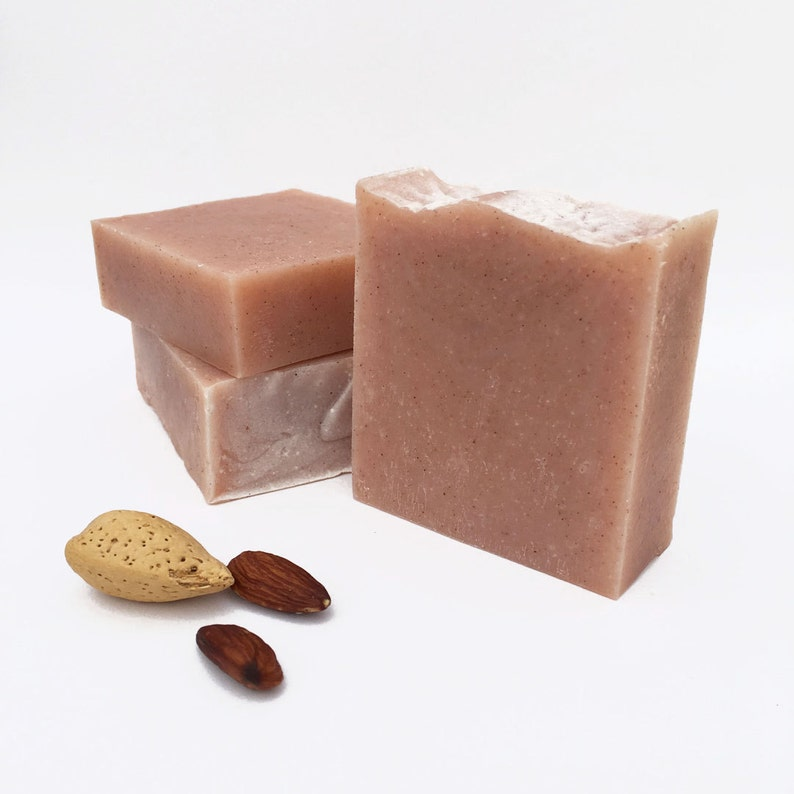 Almond Soap Handmade Soap Gift for Her Cold Process Soap image 0