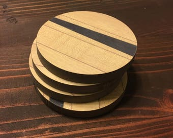 Bowling Alley Coasters