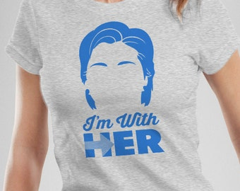 Hillary Clinton I'm With Her Women's T-Shirt