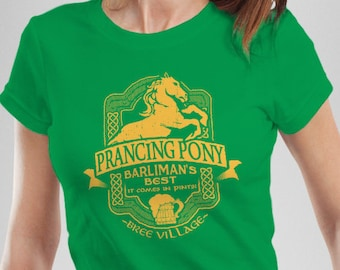 LOTR Inspired Prancing Pony Women's T-Shirt