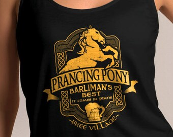 LOTR Inspired Prancing Pony Women's Tank Top